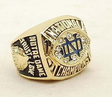 Load image into Gallery viewer, Notre Dame Fighting Irish College Football National Championship Ring (1988)