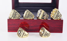 Load image into Gallery viewer, Pittsburgh Steelers Super Bowl Ring Set (1974, 1975, 1978, 1979, 2005, 2008)