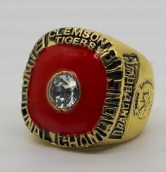 Clemson Tigers College Football National Championship Ring (1981) Rings For Champs
