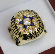 Load image into Gallery viewer, SPECIAL EDITION Dallas Cowboys Super Bowl Ring (1971) - Premium Series Rings For Champs