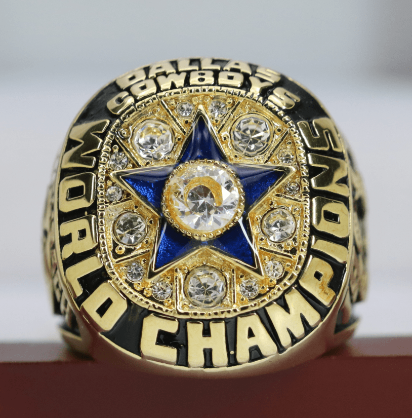 SPECIAL EDITION Dallas Cowboys Super Bowl Ring (1971) - Premium Series Rings For Champs