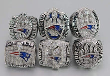 Load image into Gallery viewer, SPECIAL EDITION New England Patriots Super Bowl Ring Set (2002, 2004, 2005, 2015, 2017, 2019) - Premium Series Rings For Champs