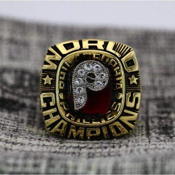 SPECIAL EDITION Philadelphia Phillies World Series Ring (1980) - Premium Series Rings For Champs