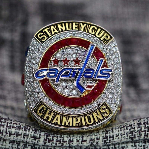 SPECIAL EDITION Washington Capitals Stanley Cup Ring (2018) - Premium Series Rings For Champs