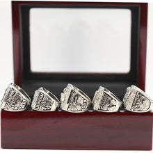Load image into Gallery viewer, San Antonio Spurs NBA Championship Ring Set (1999, 2003, 2005, 2007, 2014) - Tim Duncan