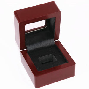 Solid Wooden Box?with Clear Display