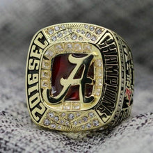 Load image into Gallery viewer, SPECIAL EDITION Alabama Crimson Tide College Football SEC Championship Ring (2016) - Premium Series