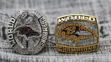 Load image into Gallery viewer, SPECIAL EDITION Baltimore Ravens Super Bowl Ring Set (2001, 2013) - Premium Series