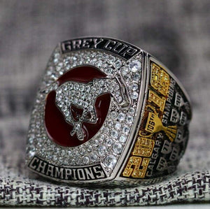 SPECIAL EDITION Calgary Stampeders CFL Grey Cup Championship Ring (2018) - Premium Series
