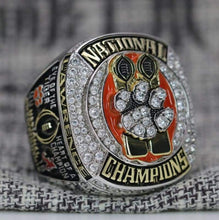 Load image into Gallery viewer, SPECIAL EDITION Clemson Tigers College Football National Championship Ring (2018) - Premium Series