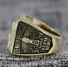 Load image into Gallery viewer, SPECIAL EDITION Denver Broncos Super Bowl Ring (1997) - Premium Series