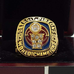 SPECIAL EDITION Detroit Pistons NBA Championship Ring (1989) - Premium Series