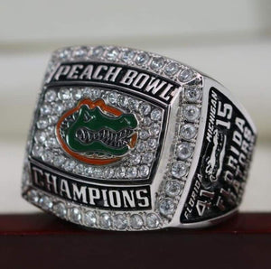 SPECIAL EDITION Florida Gators Peach Bowl College Football Championship Ring (2018) - Premium Series