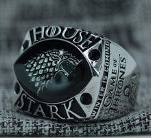 Load image into Gallery viewer, SPECIAL EDITION Game Of Thrones House Stark Ring - Premium Series