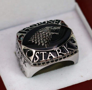 SPECIAL EDITION Game Of Thrones House Stark Ring - Premium Series