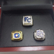 Load image into Gallery viewer, SPECIAL EDITION Kansas City Royals World Series Ring Set (1985, 2014, 2015) - Premium Series
