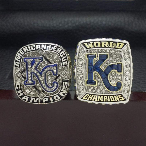 SPECIAL EDITION Kansas City Royals World Series Ring Set (2014, 2015) - Premium Series
