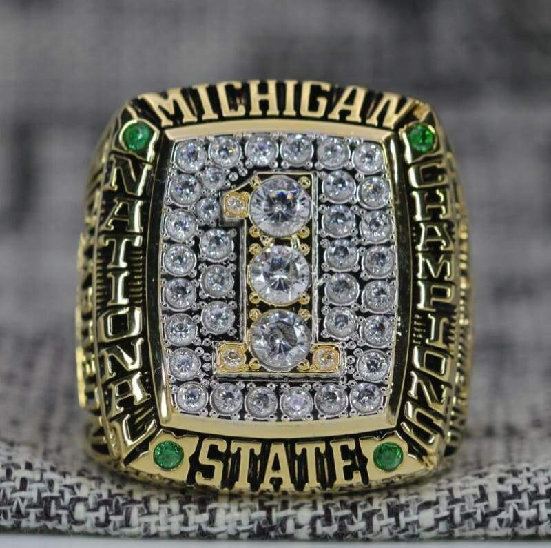 SPECIAL EDITION Michigan State Spartans College Basketball National Championship Ring (2000) - Premium Series