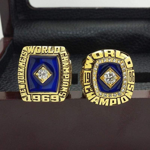 SPECIAL EDITION New York Mets World Series Ring Set (1969, 1986) - Premium Series