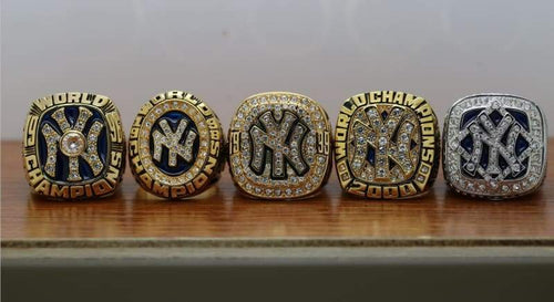 SPECIAL EDITION New York Yankees World Series Ring Set (1996, 1998, 1999, 2000, 2009) - Premium Series