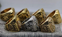 Load image into Gallery viewer, SPECIAL EDITION New York Yankees World Series Ring Set of 7 (1977, 1978, 1996, 1998, 1999, 2000, 2009) - Premium Series