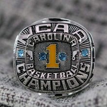 Load image into Gallery viewer, SPECIAL EDITION North Carolina Tar Heels College Basketball National Championship Ring (1982) - Premium Series