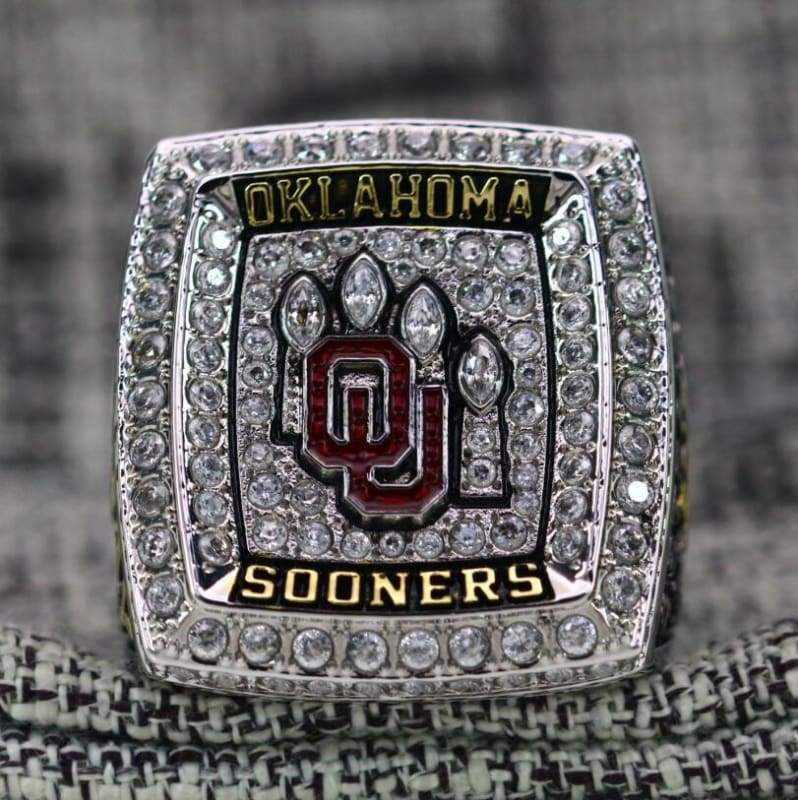 SPECIAL EDITION Oklahoma Sooners Big 12 Championship Ring (2018) - Premium Series