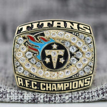 Load image into Gallery viewer, SPECIAL EDITION Tennessee Titans AFC Championship Ring (1999) - Premium Series