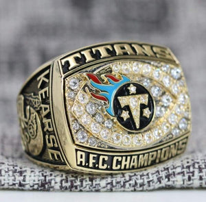 SPECIAL EDITION Tennessee Titans AFC Championship Ring (1999) - Premium Series