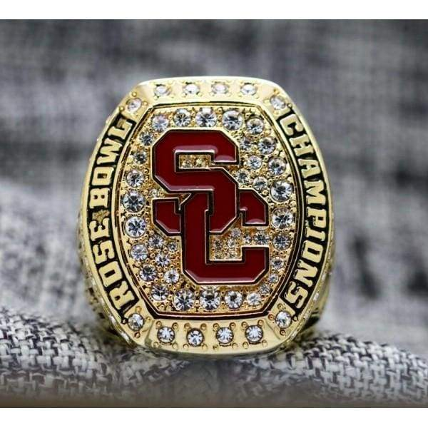 SPECIAL EDITION University of Southern California USC Trojans College Football Rose Bowl National Championship Ring (2017) - Premium Series