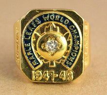 Load image into Gallery viewer, Toronto Maple Leafs Stanley Cup Ring (1947 - 1948)