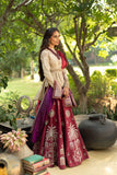 Ruby  tree of life inspire embroidered lehenga set ( LS-09)
