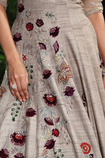 Jewelled Zardozi Embroidered Dress  SK-25