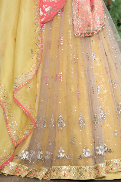 Irresistible Gota Patti Embroidered Anarkali Set SK-17