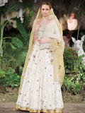 Ivory Jacket Lehenga Set (7 pc) SK-05