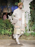 Achkan With Long Kurta Set (3 pc) SKM-11