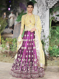 Purple Dupion Lehenga Set (3 pc) SK-34