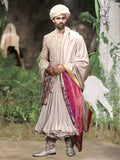 Angrakha With Bandhgala Set (3 pc) SLM-02