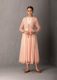 BLUSH ANARKALI SET WITH INNER & PANT ( INY - 29 )