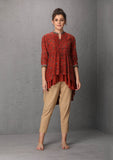 Rust asymmetrical top (LW-28) JUST ADDED