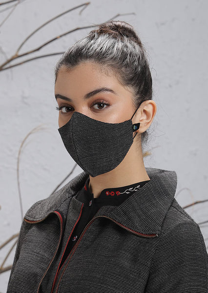 Dark Grey Mask (M-07)