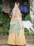 Yellow Matka Khadi Lehenga Set (7 pc) SK-06