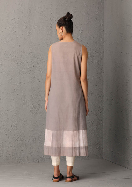 Grey shibori tunic (USW-05) JUST ADDED