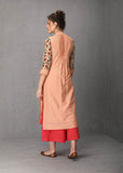 Blush tunic set in mulmul (VOF-04) JUST ADDED