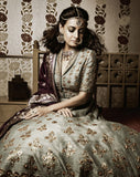 GOTA PATTI EMBROIDERED ANARKALI SET  ( SK -21 )