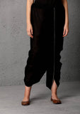Black dhoti with silver studs (SW-48)