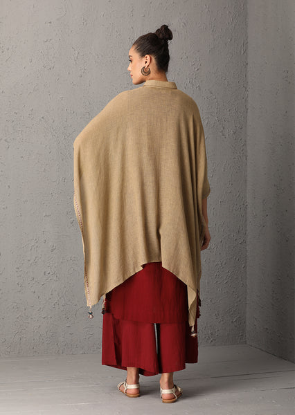 Beige cape (UN-01) JUST ADDED