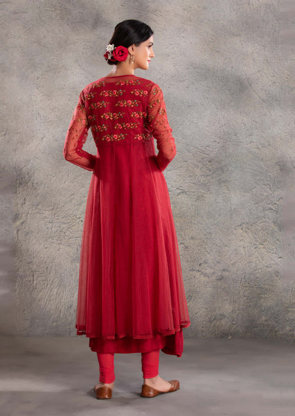 Prisha Anarkali set (VOF-17)