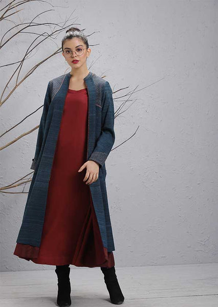 Navy Woolen Jacket (WL-22)