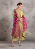 Yellow Embroidered kurta Set ( YMN - 20 )